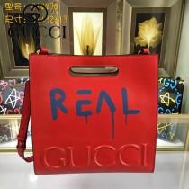 GUCCI 414476-05 專櫃時尚新款塗鴉系列小號手提肩背包