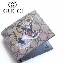 GUCCI 022-01 專櫃時尚新款2折動物圖案錢包短夾
