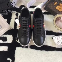 GUCCI鞋子-015-7 古馳早春新款上市珍珠鉚釘紅綠尾情侶休閒鞋