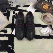 GUCCI鞋子-015-6 古馳早春新款上市紅尾紅綠織帶情侶休閒鞋
