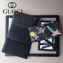 GUCCI-000005-1 新款女士3折多卡位錢包