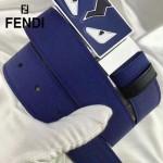 FENDI皮帶-02-2 芬迪高端商務雙面用琺瑯五金扣原版皮皮帶