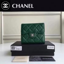 CHANEL 82288-5 Wallet系列最新款原版皮女士折疊式短夾