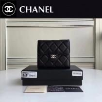 CHANEL 82288-3  Wallet系列最新款原版皮女士折疊式短夾
