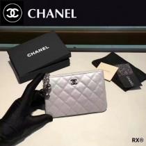 CHANEL 0517-1 人氣熱銷時尚新款原版皮女士單拉鏈零錢包