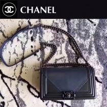 CHANEL 0544 專櫃最新LEBOY拼色系列原版皮單肩斜挎包