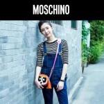 MOSCHINO-001-2 江疏影同款飛天小女警系列單肩斜挎包相機包