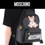 MOSCHINO-002 莫斯奇諾春夏新款帥氣泰迪小熊休閒雙肩包書包