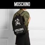 MOSCHINO-0013 莫斯奇諾米蘭走秀楊冪同款個性印花雙肩包書包