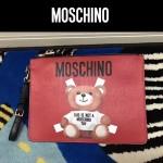 MOSCHINO-007-2 莫斯奇諾潮流百搭可愛泰迪小熊休閒手拿包