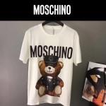 MOSCHINO-0015-2 莫斯奇諾春夏系列小熊字母印花短袖T恤