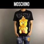 MOSCHINO-0016-2 莫斯奇諾春夏新款小熊字母印花短袖T恤