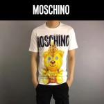 MOSCHINO-0016 莫斯奇諾春夏新款小熊字母印花短袖T恤
