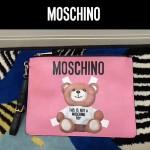 MOSCHINO-007 莫斯奇諾潮流百搭可愛泰迪小熊休閒手拿包