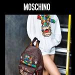 MOSCHINO-008 莫斯奇諾超級瑪麗馬里奧全家福休閒雙肩包