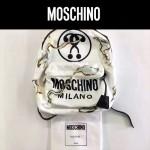 MOSCHINO-0023 莫斯奇諾楊冪同款焚燒字母雙肩包書包