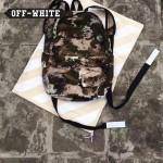 OFF-WHITE-005-4 潮人必備迷彩搭配渲染效果防水面料雙肩包