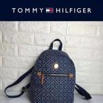 TOMMY HlLFlGER-001-3 輕便小巧女士織布材質中號雙肩包
