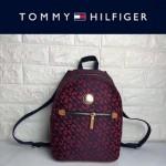TOMMY HlLFlGER-001 輕便小巧女士織布材質中號雙肩包