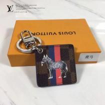 LV-00020-4 專櫃新款ILLUSTRE SAVANE原單斑馬圖案吊牌包包吊飾