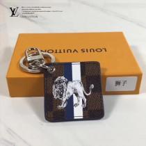 LV-00020 專櫃新款ILLUSTRE SAVANE原單獅子圖案吊牌包包吊飾