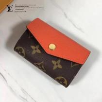 LV M61273-4 SARAH MULTICARTES 錢夾 時尚優雅高貴Monogram帆布信封女士錢夾