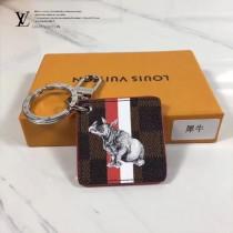LV-00020-2 專櫃新款ILLUSTRE SAVANE原單犀牛圖案吊牌包包吊飾