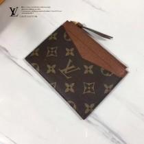 LV M62257-4 PORTE-CARTE ZIPPI 卡片夾全新Monogram帆布搭配彩色牛皮卡片夾