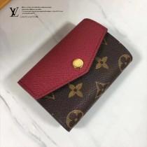 LV M61273-3 SARAH MULTICARTES 錢夾 時尚優雅高貴Monogram帆布信封女士錢夾