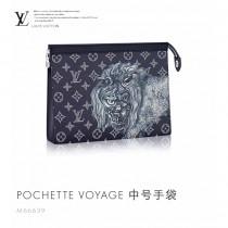 LV M66639 POCHETTE VOYAGE 時尚小巧趣味圖案多樣功能中號手袋