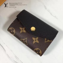 LV M61273-2 SARAH MULTICARTES 錢夾 時尚優雅高貴Monogram帆布信封女士錢夾