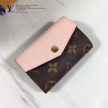 LV M61273-5 SARAH MULTICARTES 錢夾 時尚優雅高貴Monogram帆布信封女士錢夾