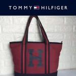 TOMMY HlLFlGER-0010 人氣爆款女士帆布大容量媽咪包購物袋