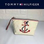 TOMMY HlLFlGER-0011-2 輕便實用小巧女士刺繡帆布手拎包手拿包