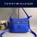 TOMMY HlLFlGER-008-3 春季新款藍色防水面料單肩斜挎包