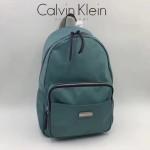 Calvin Klein-018-4 正品新款背包防水布料配pu和皮