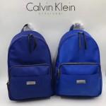 Calvin Klein-018-2 正品新款背包防水布料配pu和皮