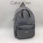 Calvin Klein-018-6 正品新款背包防水布料配pu和皮