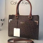 Calvin Klein-013-2 手提單肩字母通勤包全身CK字母是CK家族經典標誌進口專用PVC