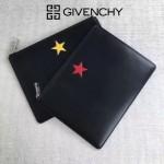 Givenchy-0013-3 潮流男士五角星牛皮薄款手拿包