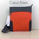 Calvin Klein Jeans-009 單肩斜挎包原單正品防水面料YKK拉鏈休閑輕便款橙色