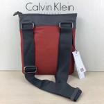 Calvin Klein Jeans-009-2 單肩斜挎包原單正品防水面料YKK拉鏈休閑輕便款橙色