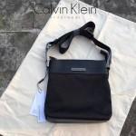 Calvin Klein Jeans-008 CK拉鏈款斜挎包進口防水粗紋雙股尼龍料百搭經典防水耐磨