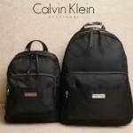 Calvin Klein-019 正品新款背包防水布料配pu和皮