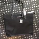 Calvin Klein-0028 新款女士原單防水牛津布配牛皮單肩購物袋