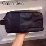 Calvin Klein-0036 輕便實用黑色防水面料大容量收納包洗漱包