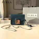FURLA-022-7 百分百正品糖果小包女士單肩斜背包