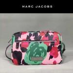 MARC JACOBS-033 時尚潮流 牛皮革印花款女士小號單肩斜挎包