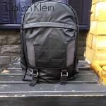 Calvin Klein-0025-2 旅行必備黑色防水面料雙肩包書包