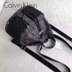 Calvin Klein-0043-2 潮流女士尼龍面料小號束口雙肩包